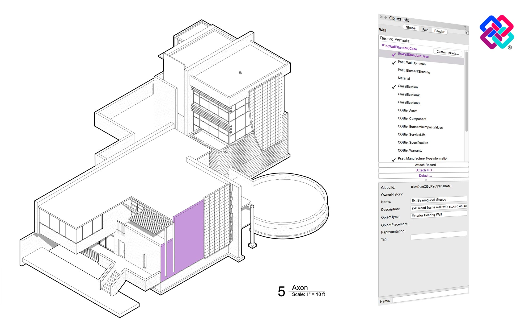 More Accessible IFC BIM Data