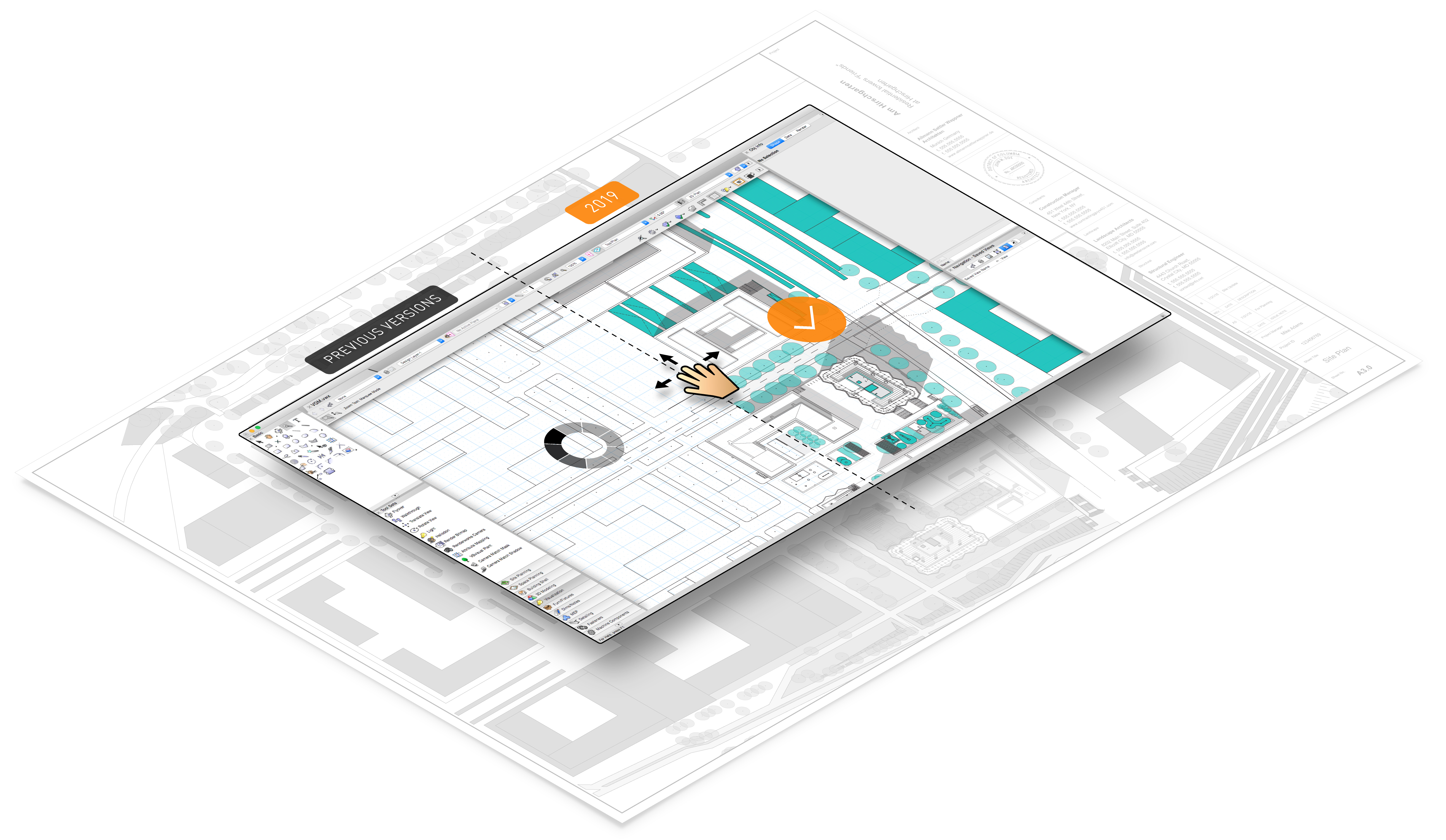 VECTORWORKS GRAPHICS MODULE ON SHEET LAYERS