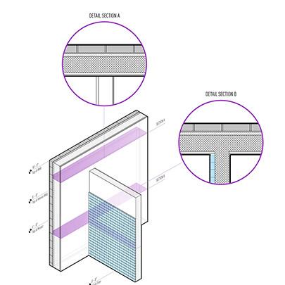 Representación gráfica mejorada para documentos arquitectónicos