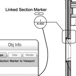 Linked Section/Detail Markers