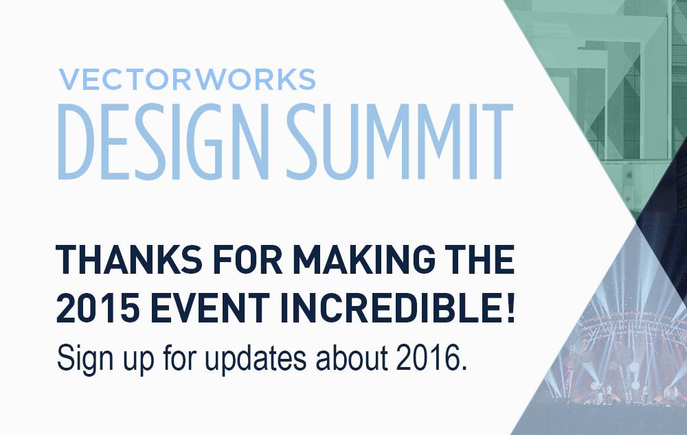 Vectorworks Design Summit
