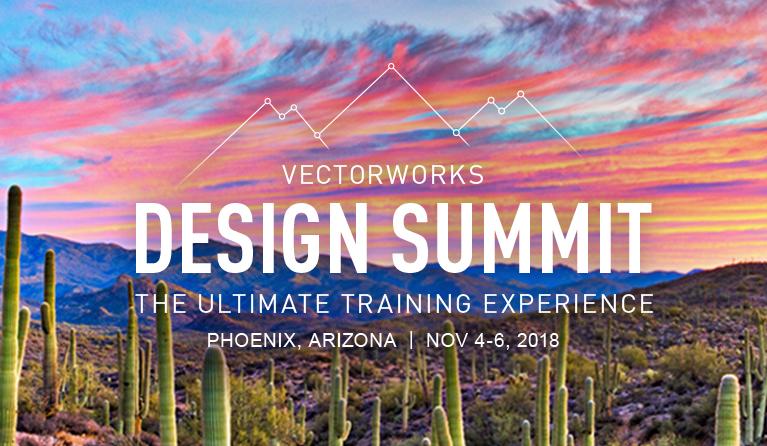 Vectorworks Design Summit 2018