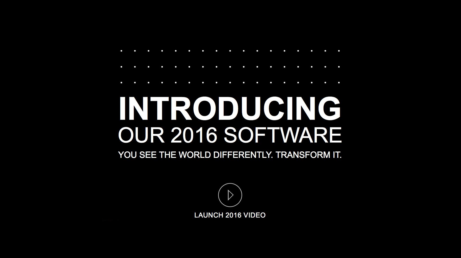 Vectorworks 2016 is Coming