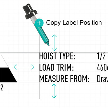 Copy Label Position