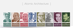 Atomic Architecture in America: 1945-1965
