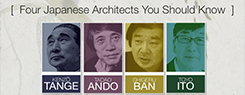 Four Japanese Architects You Should Know