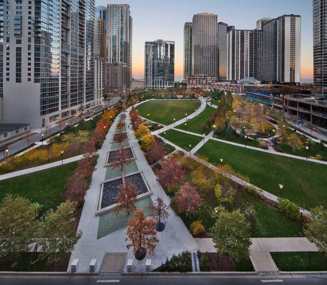 Case studies vectorworks for Landscape design chicago