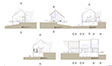 Hillside House Building Sections