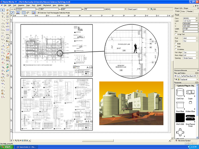 VectorWorks 12