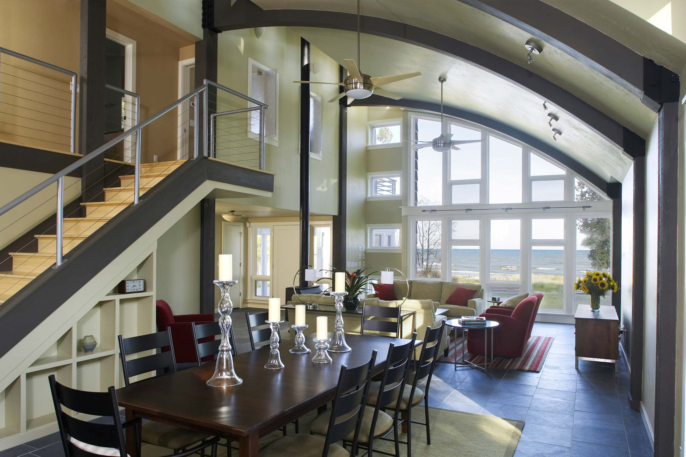 Sturgeon Bay house interior