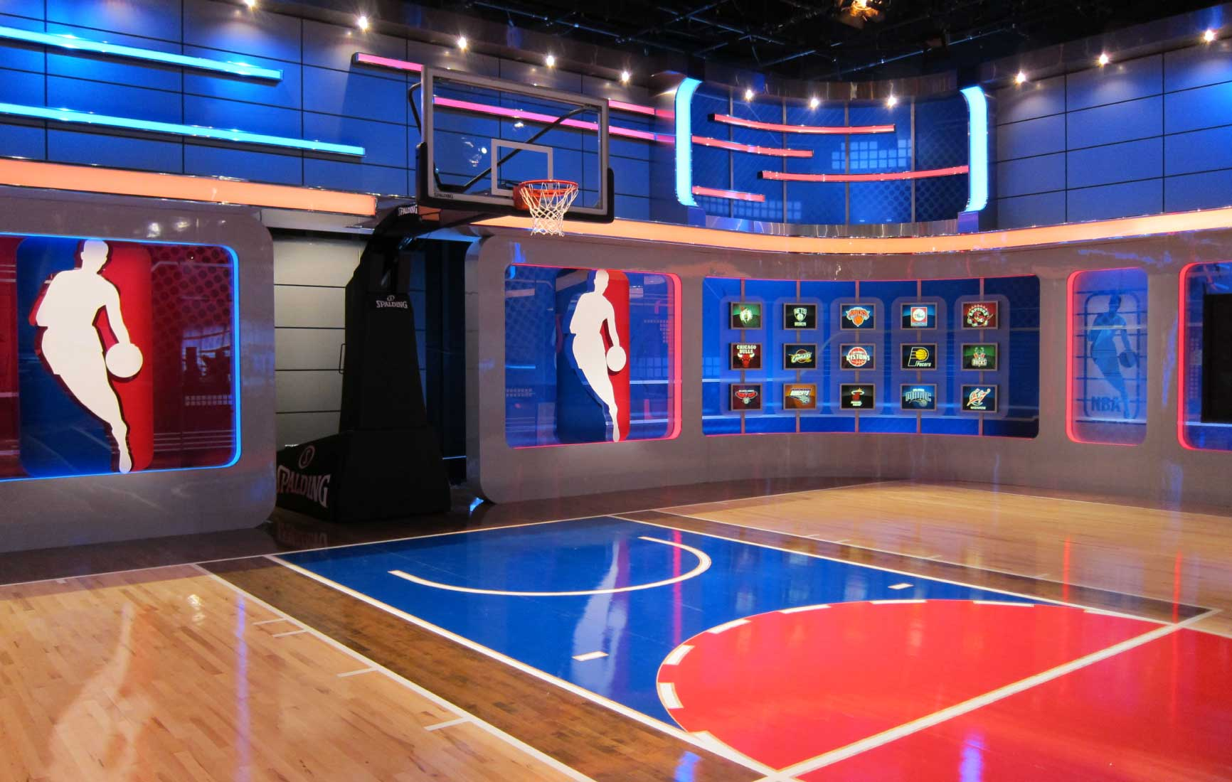 NBA TV Studio | Courtesy of Innovative Show Design