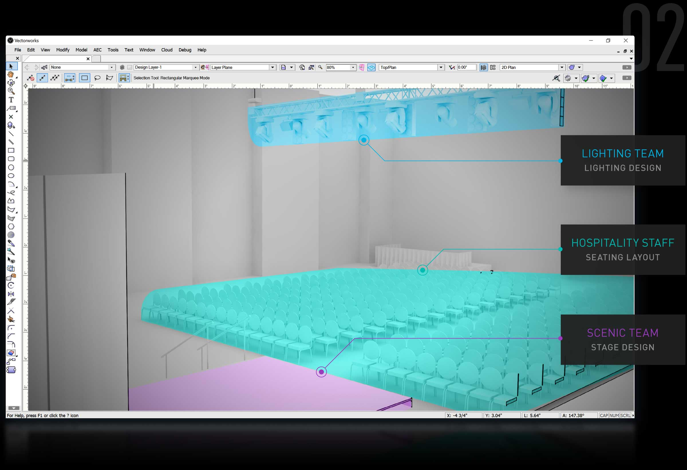 Entertainment & lighting design software vectorworks spotlight